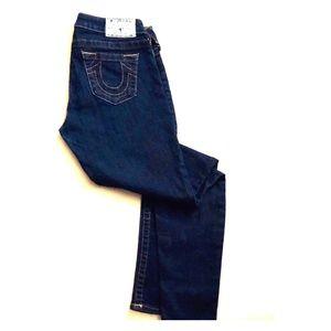 True Religion High Rise Curvy Skinny Jean